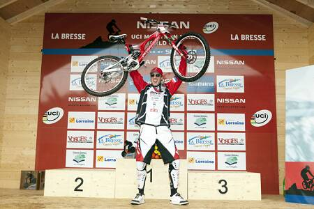 Steve Peat a La Bresse