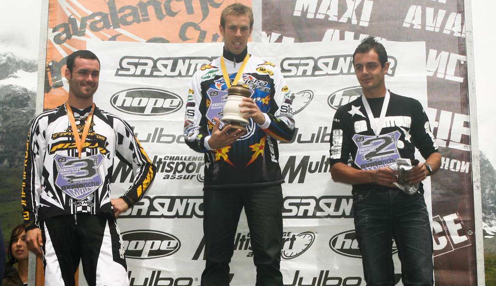 Il podio della Maxi 2009 (foto Bonin fotoextreme.it)