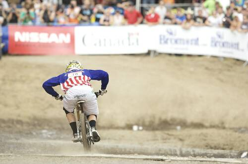 Uno sprint del 4X (foto UCI)