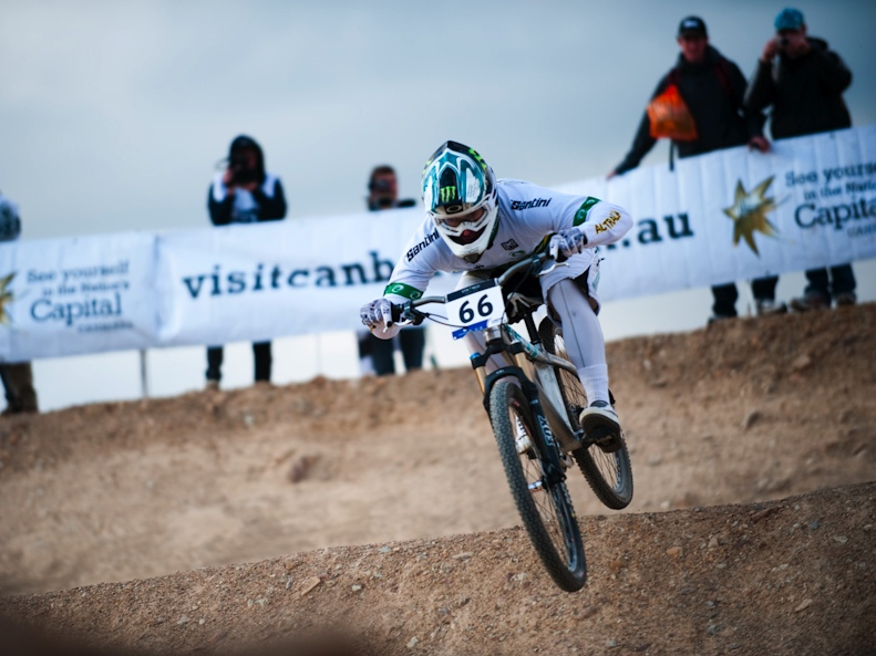 Jared Graves a Canberra (foto UCI)
