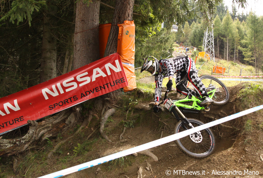 Sam Hill a Schladming (foto MTBnews.it - Alessandro Mano)