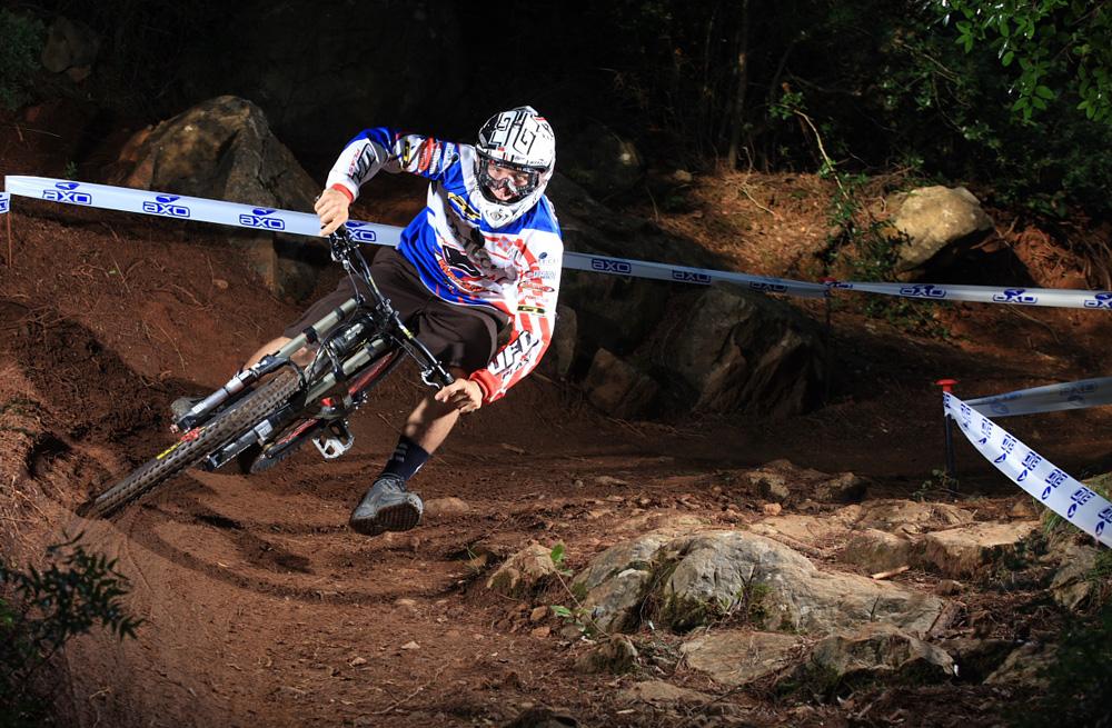 Lorenzo Suding a Carbonia (foto Matteo Cappè)