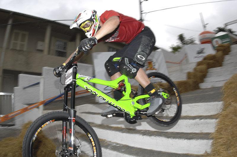 Cédric Gracia a Valparaiso, la sua ultima vittoria